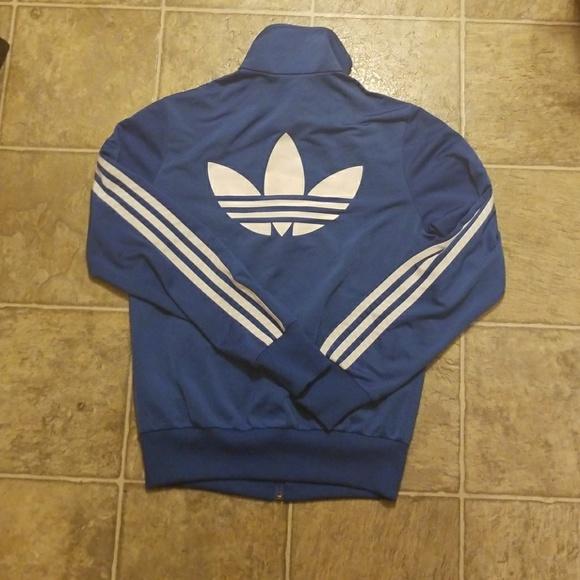 860a5b7248 adidas Jackets   Blazers - Adidas Royal Blue Originals Track Jacket S